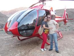 Helicóptero Gran Cañón