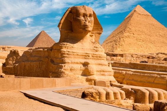 Esfinge y Pirámides Giza