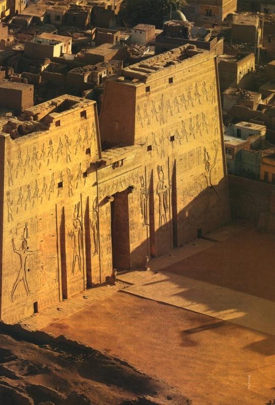 Temple Horus Edfú