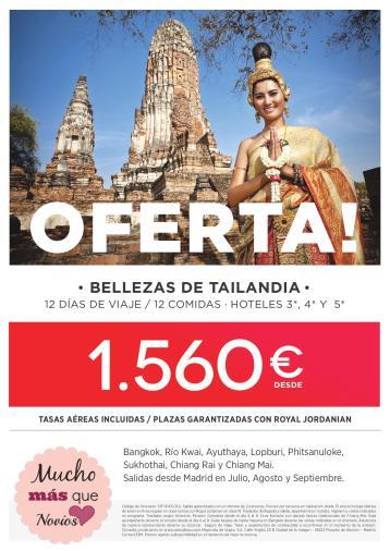 Oferta Feria Tailandia