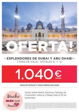 Oferta Feria Emiratos