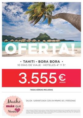 Oferta Feria Polinesia