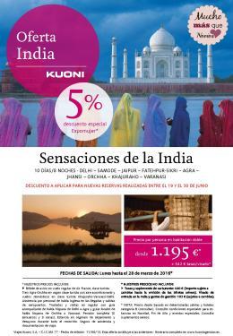 Oferta Feria India