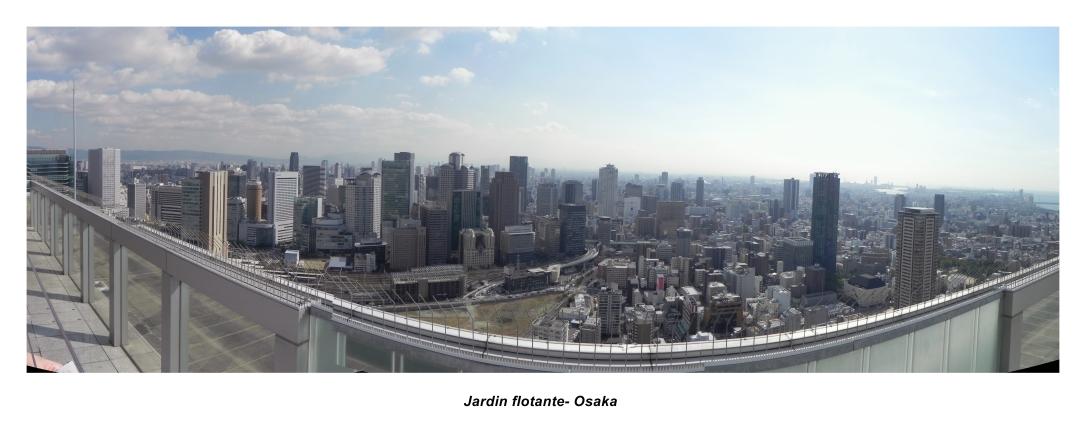 Jardin flotante - Osaka