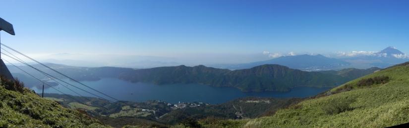 Lago - monte fuji - Japón